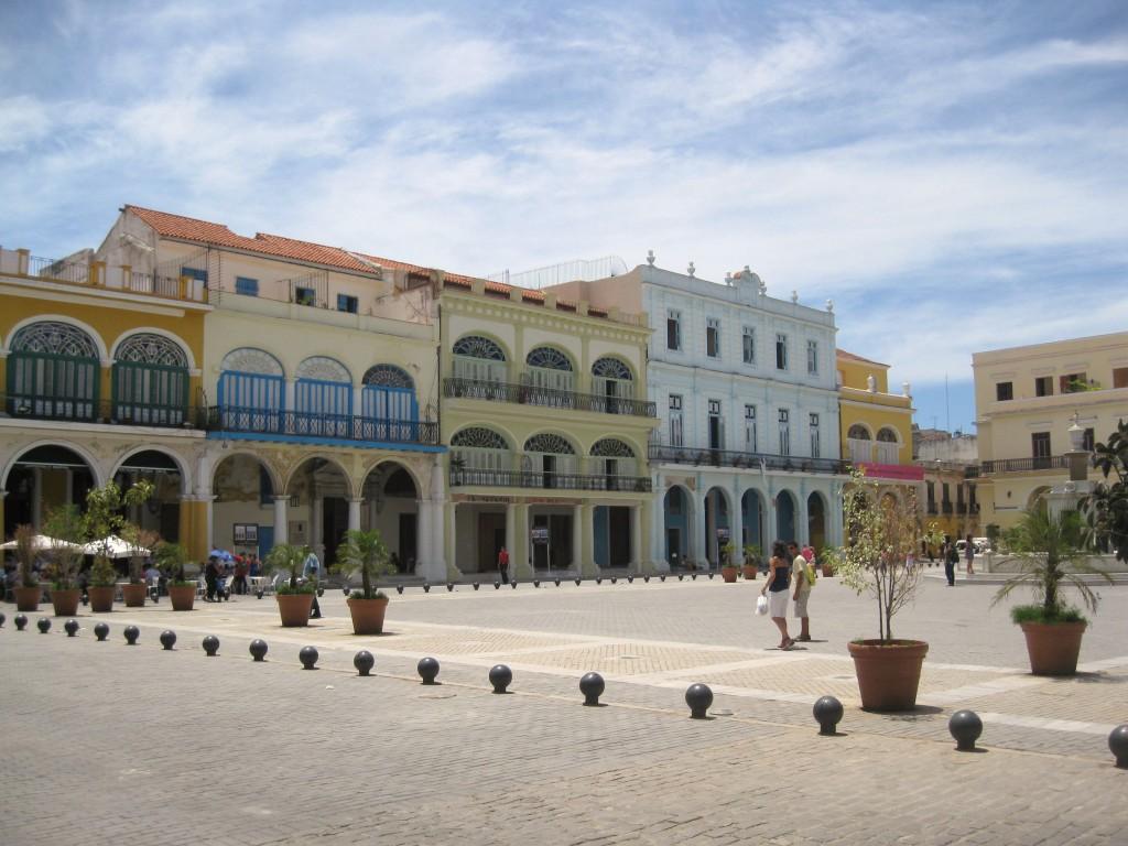 Plaza Vieja en La Habana